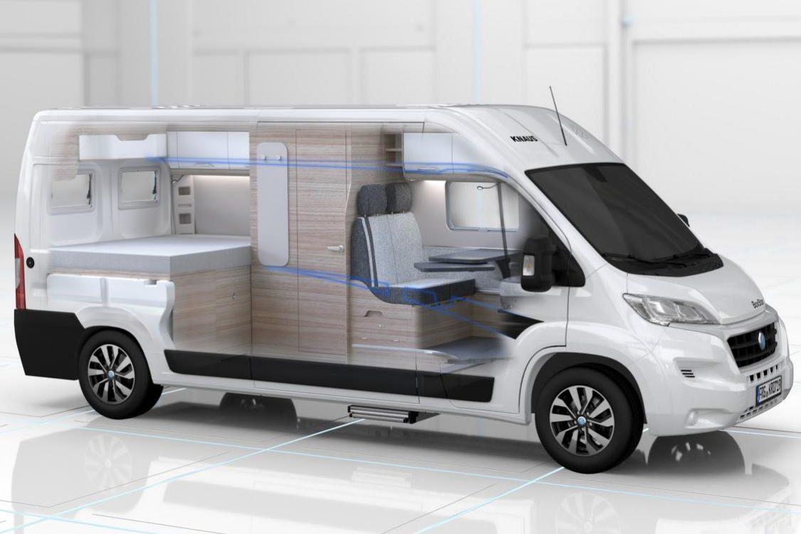 Fahrzeugausstattung Wohnmobil Extras mieten bei Moon Camper Berlin